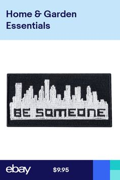 Be Someone Houston Texas Skyline Graffiti Embroidered Iron on Patch Name Patches, Sew On Patches, Iron On Patches, Skyline Tattoo, Skyline Art, Tactical Patches, Biker Patches, Awesome Tattoos, Cool Tattoos