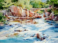 """Rapids and Reflections"" - Bridget Austin"