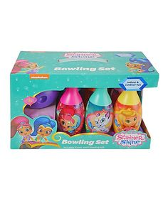 Look what I found on #zulily! Shimmer & Shine Bowling Set in Display Box by Shimmer and Shine #zulilyfinds
