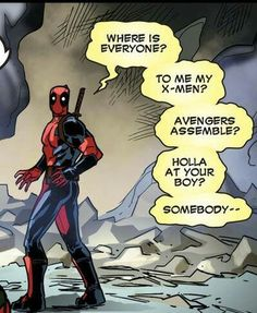 Deadpool Funny Comic