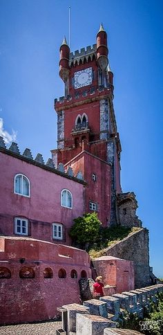 Pena National Palace, Sintra, Portugal   Flickr - Photo by Clement Celma