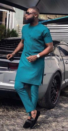 African Wear Styles For Men, African Shirts For Men, African Dresses Men, African Attire For Men, African Clothing For Men, African Style, Nigerian Men Fashion, African Men Fashion, Fashion Joggers