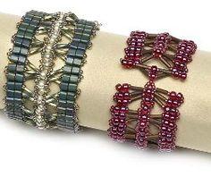 Bugle Cluster Beaded Bracelet