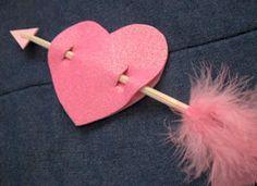 Manualidades para niños: corazón de san Valentín o Día del Amor y Amistad ~ Solountip.com