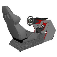 RS1 DIY Cockpit Plans and Templates (rev. 3.2) - Made for Logitech G25/G27