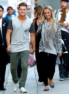 Jef Holm & Emily Maynard. cutest couple ever!!!!!!