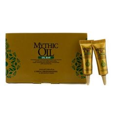 L'Oreal Mythic Oil OIL BAR Scalp Clarifying Pre-Shampoo Concentrate With Essential Oils (15 x 0.4 oz.) *** You can get additional details at the image link.