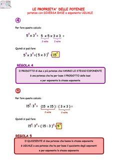 08. Le-proprieta-delle-potenze-3 Math Tutor, Maths, Math Magic, Math Help, Math Games, Algebra, Problem Solving, Grammar, Language