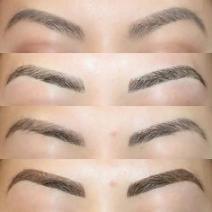Microblading Before and After : Illustration Description Got my brows tattooed with This is my before/after/healed/touchup pic. Pictures Of Eyebrows, Microblading Healing Process, Eyebrow Feathering, Eyebrow Before And After, Semi Permanent Eyebrows, Eyebrow Embroidery, Cosmetic Tattoo, Brows On Fleek, Microblading Eyebrows