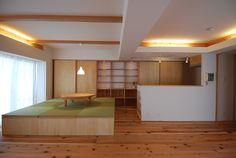 小上がり畳スペースと壁面収納 | 木のマンションリフォーム・リノベーション設計実例 | 木のマンションリフォーム・リノベーション-マスタープラン一級建築士事務所