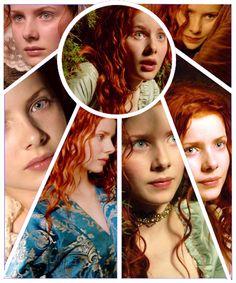 Rachel Hurd Wood has the best red hair:)