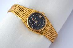 Vintage Rado Shangri-La Automatic Gold by VintageTimeWatches