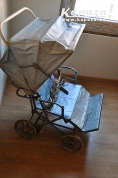 Retro tweeling kinderwagen/ oude dubbele buggy flandre-occidentale