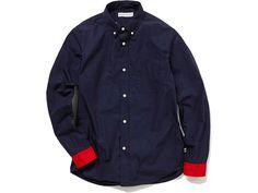 Head Porter Plus Red Cuffs Shirts