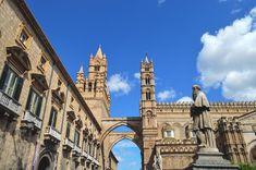 Cathedral Santa Maria Assunta in Palermo, Sicily | heneedsfood.com