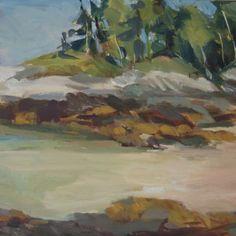 Receding Tide by Jillian Herrigel, Dimensions: 9 x 12 in, Price: $275.00