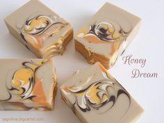 Honey Dream - Oatmeal, milk & honey cp soap #cp_soap #sapolina_soap #handmade