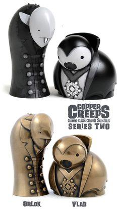 "Doktor A. announces series 2 of his ""Copper Creeps""!!!"