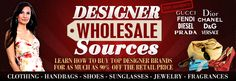 Designer Wholesale Sources | Clothes | Shoes | Apparel | Clothing | Suppliers
