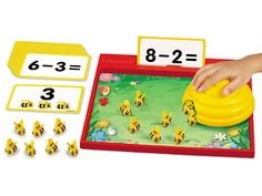 Busy Bees Hands-On Subtraction Center at Lakeshore Learning