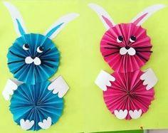 Králík nápady řemesla pro děti v předškolním veku | funnycrafts
