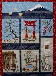 Elizabeth Camping Quilt Designs: Block of the Month Quilts