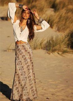 Mode Boho Gypsy, Gypsy Style, Hippie Style, Bohemian Style, Hippie Boho, Bohemian Hair, Bohemian Jewelry, Bohemian Girls, Boho Jewellery