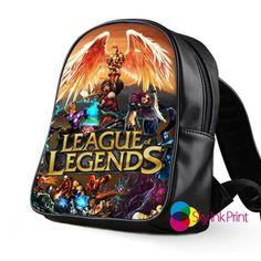 league of legends School Bag