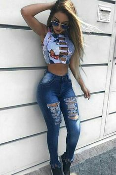 Pin on Mannequins 2018 / 2019 Pin on Mannequins 2018 / 2019 Mode Outfits, Sexy Outfits, Stylish Outfits, Summer Outfits, Girl Outfits, Fashion In, Fashion Outfits, Womens Fashion, Sexy Jeans