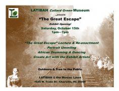 'The Great Escape' -  LATIBAH's Exhibit Opening!