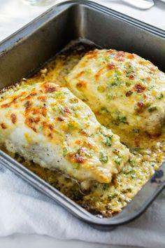 Garlic Parmesan Halibut More
