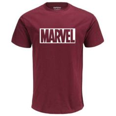 Eqmpowy 2017 New Fashion MARVEL t-Shirt men cotton short sleeves Casual male tsh Denim Casual, Casual T Shirts, Casual Tops, Casual Wear, Sport Direct, Tee Shirt Homme, Shirt Men, Marvel Shirt, Marvel Logo