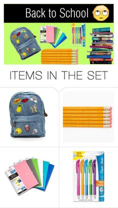 """""""Back to school collection~ Nicki & Maci"""" by courtney-paige-mcintosh ❤ liked on Polyvore featuring art"""