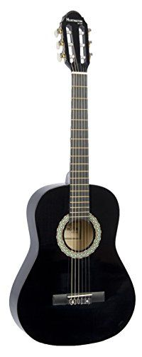 """39"""" Inch Full Size Black Student Beginner Classical Nylon String Guitar & DirectlyCheap(TM) Translucent Blue Medium Guitar Pick (PRO-S Series)  - http://bestguitardeal.com/39-inch-full-size-black-student-beginner-classical-nylon-string-guitar-directlycheaptm-translucent-blue-medium-guitar-pick-pro-s-series-teacher-approved/  Visit http://bestguitardeal.com to read more on this topic"""