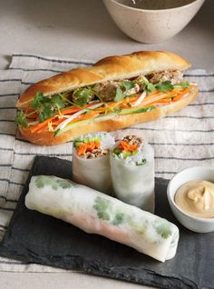 Mayonnaise à la sauce hoisin Bento Recipes, Veggie Recipes, Asian Recipes, Healthy Recipes, Ethnic Recipes, Ricardo Recipe, Viet Food, Good Food, Outfits