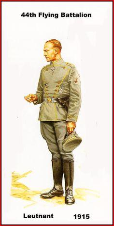 DEUTSCHES HEER - 144th Flying Battalion- Leutnant - 1915
