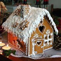 Recept : Perníková chaloupka | ReceptyOnLine.cz - kuchařka, recepty a inspirace Christmas Cookies, Holiday Crafts, Xmas, Baking, Gingerbread Houses, Desserts, Food, Advent, Craft Ideas