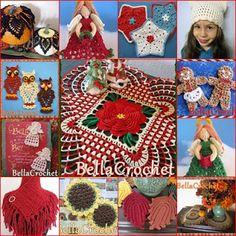Lots of free patterns on her blog http://bellacrochet.blogspot.com