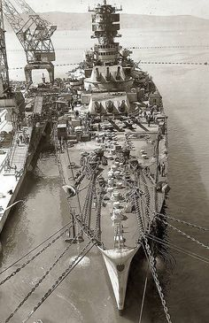 Battleship Roma sunk by the Germans 9 sept 43 alors qu'il se rendait à Malte pour se rendre..