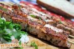 Somon şiş #salmon #somon #pratiktarifler #easyrecipes  www.yemekevi.tv www.facebook.com/YemekeviTV www.twitter.com/yemekevitv www.instagram.com/fatosunyemekevi