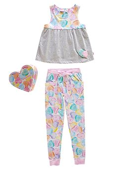 Image for Girls Candy Pj Set from Peter Alexander