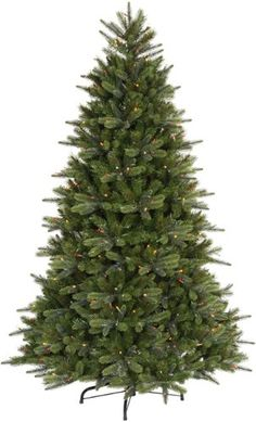 $1,027.00-$1,407.00 Description - This tree has a heavy wire in each branch that springs into place at set up - no shaping required! The mix of needle styles gives it a rich texture. With the instant shape needles and DuraLit lit, this is the quickest tree you will ever set up.Lights - 1,250 Multi-Color Dura-Lit Mini Lights. Ensures your light set remains lit even if a bulb is removed from its s ...