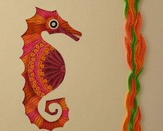 Folk Art Designs -    Quilling by Sandra White