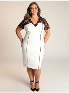 piniful.com plus-size-party-dresses-22 #plussizefashion
