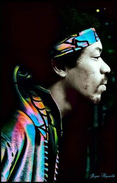 Jimi Hendrix Photo via Jayne Reynolds