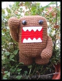 Amigurumi Domo Kun - for my little one
