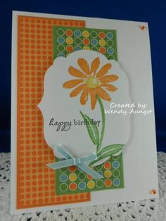 WATERCOLOR GARDEN Seize the Birthday Week #1 by WeeBeeStampin - Cards and Paper Crafts at Splitcoaststampers