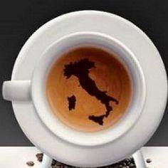I love Italy :) Coffee Corner, Coffee Love, Coffee Break, Best Coffee, Coffee Shop, Coffee Cups, Morning Coffee, Italian Espresso, Best Espresso