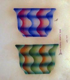 """Pattern for """"Douro"""" bowl - Fabrica de Loica de Sacavem"""