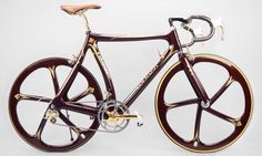 Colnago C35 Campagnolo equipped with Campagnolo Super Record Gold